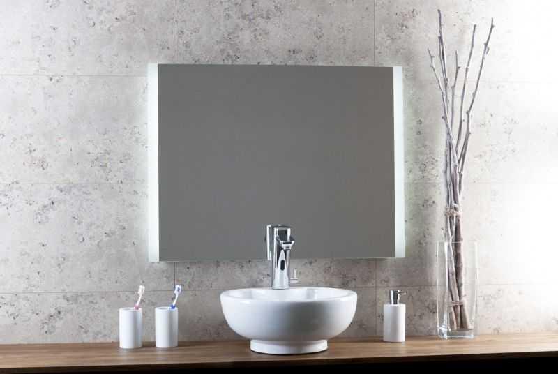 Spiegel Led Verlichting : Sub spiegel li re led verlichting m sensor sub sanitair